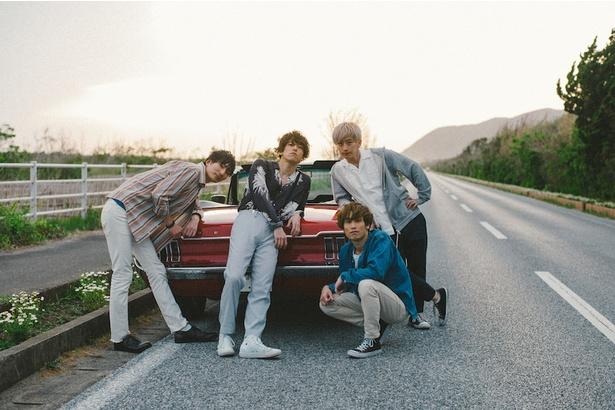 (左から)TAK-YARD、Money、Kensuke、JUN