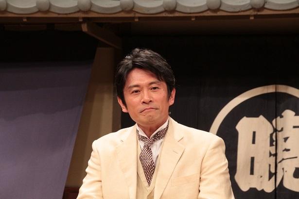 日本初の国産ウイスキー作りに心血を注ぐ主人公を演じた内野聖陽