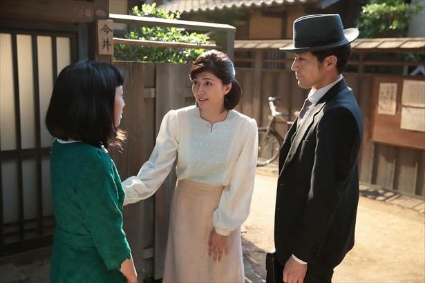 咲(内田有紀)は家族が心配で結婚に踏み切れないでいたが…