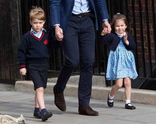 すくすく成長中!ジョージ王子とシャーロット王女