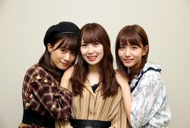 ドキュメンタリー映画「アイドル」やSKE48の10周年について斉藤真木子、高柳明音、大場美奈(左から)にインタビュー!