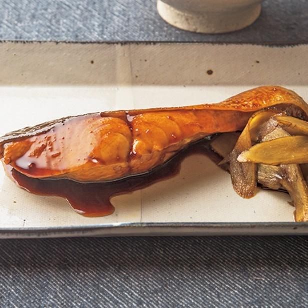 「簡単すぎる鮭の鍋照り」
