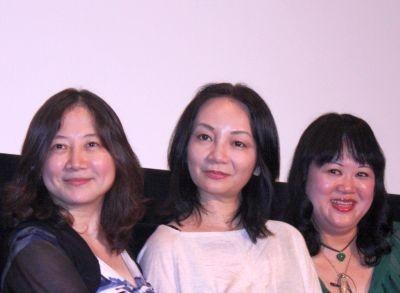 西原理恵子さん(左)岩井志麻子さん(中央)中瀬ゆかりさん(右)がギリギリトークを披露!