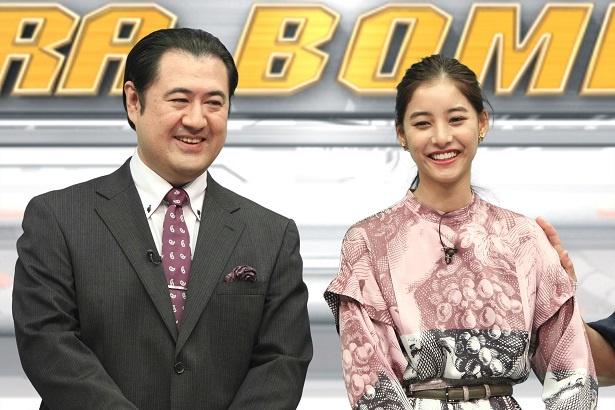 10月8日(月)放送の「ネプリーグSP」に小手伸也(写真左)、新木優子が登場