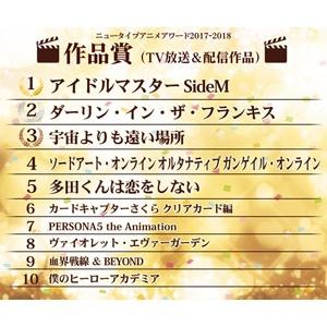 「アイドルマスター SideM」&「文豪ストレイドッグス DEAD APPLE(デッドアップル) 」が作品賞の第1位を獲得! ニュータイプアニメアワード最終結果