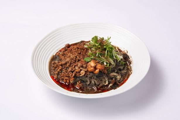 「汁なし黒ごま担担麺」950円は数量限定