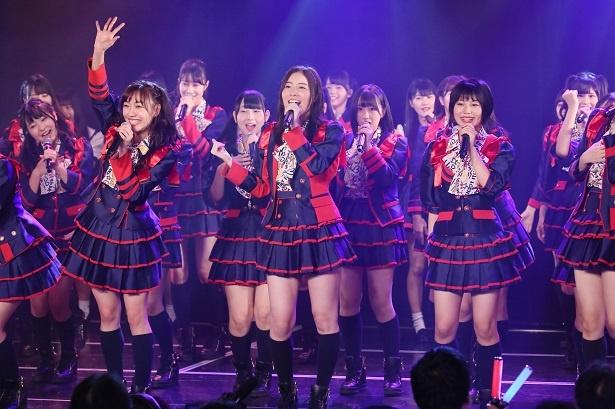 劇場デビュー10周年となる10月5日にSKE48が10周年記念特別公演を行った