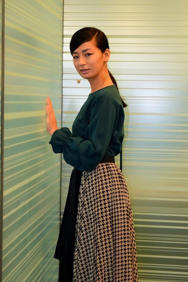 「touristツーリスト」の「第3話ホーチミン篇」に出演する尾野真千子にインタビュー