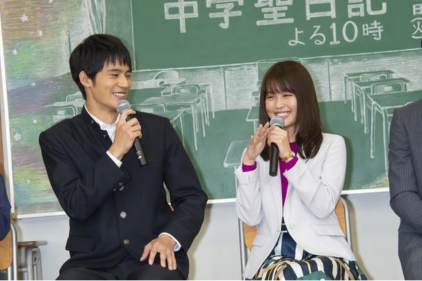 「現場は楽しい」と有村架純。岡田健史も「みなさんに感謝しています」と明かした