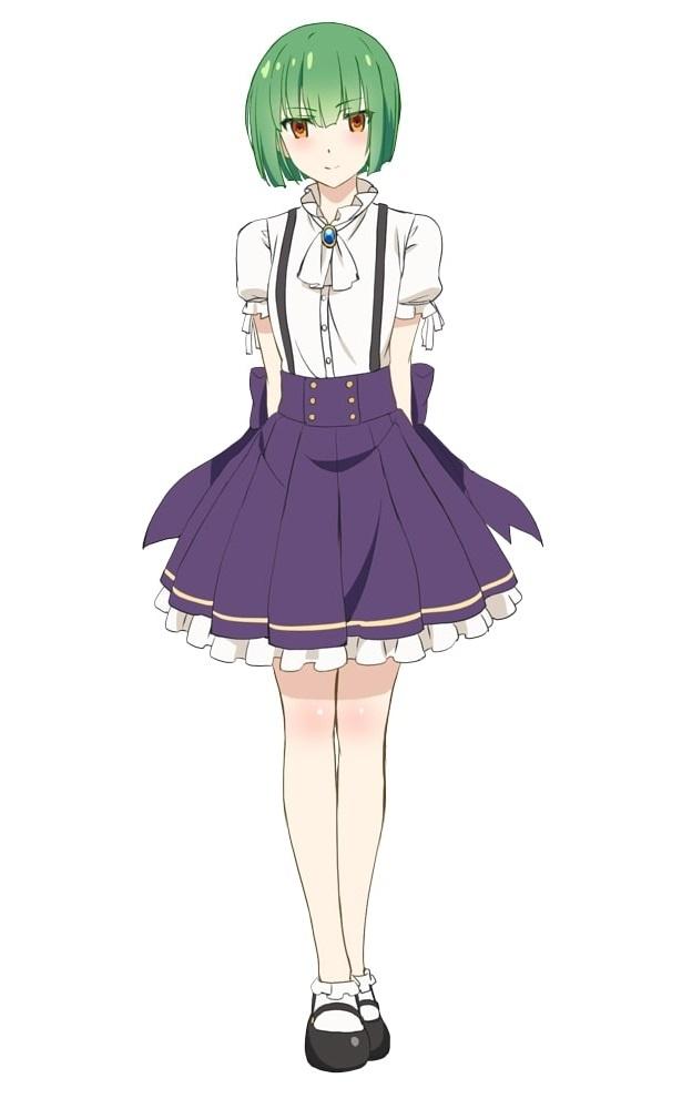 ファントム(CV:井澤詩織)。三沢基地からやってきたアニマの少女。可憐な容姿とは裏腹に一癖も二癖もあるクールな現実主義者
