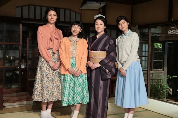 ヒロイン・安藤サクラと2人の姉(内田有紀&松下奈緒)、母(松坂慶子)