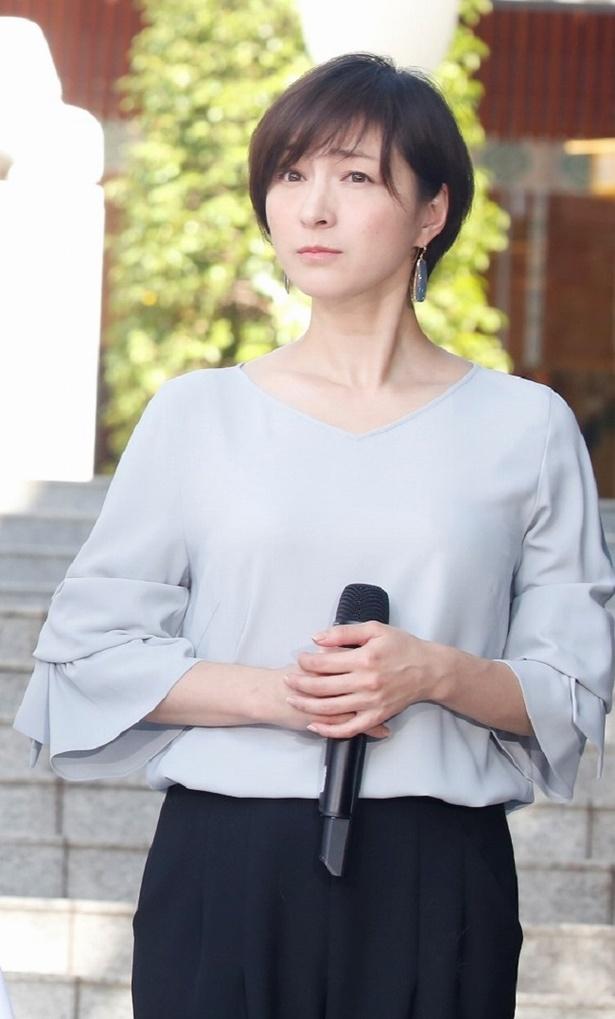 加瀬トキワ役の広末涼子