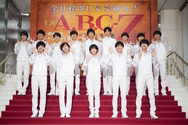 「5忍者」のメンバー。前列左から元木湧、川崎皇輝、ヴァサイエガ渉、北川拓実、内村颯太