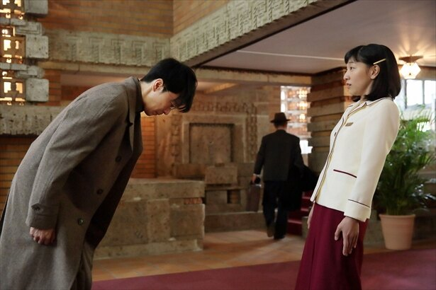 突然交際を申し込まれ、福子はびっくり!