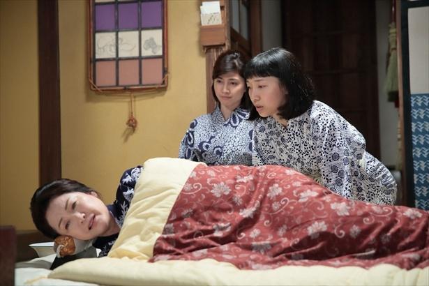 ひとくせある母・鈴を演じる松坂慶子