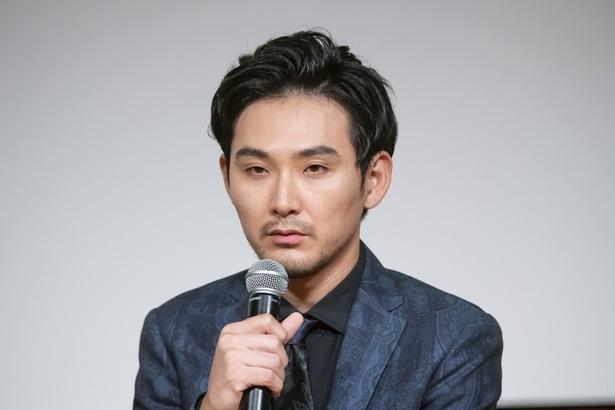 松田龍平は「結構ショックで口がパサパサになりました」と役柄を演じる上での難しさを吐露