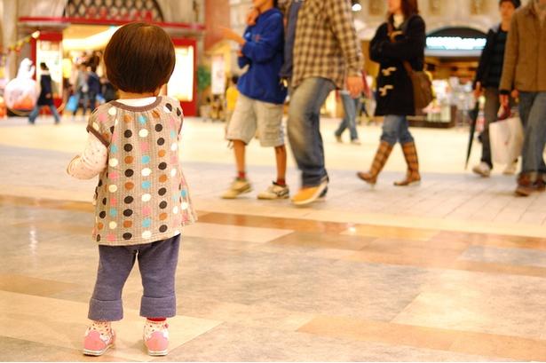 【写真】子どもともっともはぐれやすいのは2~5歳?
