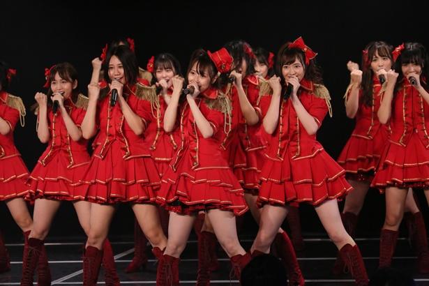 チームKII初のオリジナル公演「ラムネの飲み方」内の楽曲「兆し」