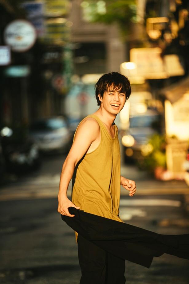 注目の俳優 佐伯大地、1st写真集発売決定に「とても幸せに思っています」