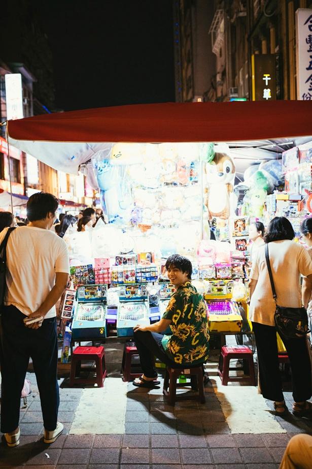 撮影は台湾で行われた