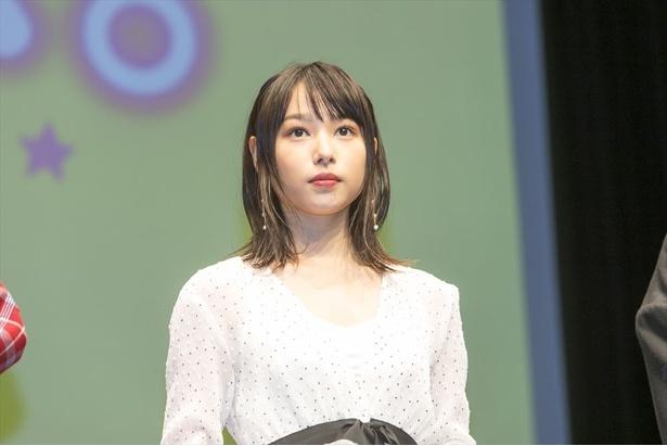 ヒロインの優羽を演じた桜井日奈子