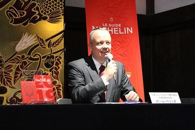 日本ミシュランタイヤ株式会社 代表取締役社長 ポール・ペリニオ氏