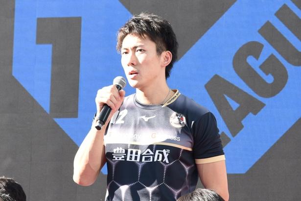 豊田合成トレフェルサの高松卓矢選手