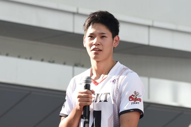 ジェイテクトSTINGSの西田有志選手