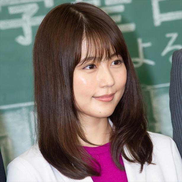 新ドラマ「中学聖日記」に主演する有村架純