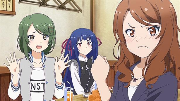 「ソラとウミのアイダ」第2話の先行カットが到着。春と波乃は女子寮へ向かうが!?