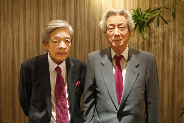 田原総一朗と小泉純一郎が激論を交わす
