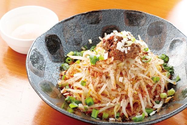 シビレ好きにおすすめ!「広島汁なし担々麺(しびれ3)」(900円)/「Hino担担麺 【kokuu】」