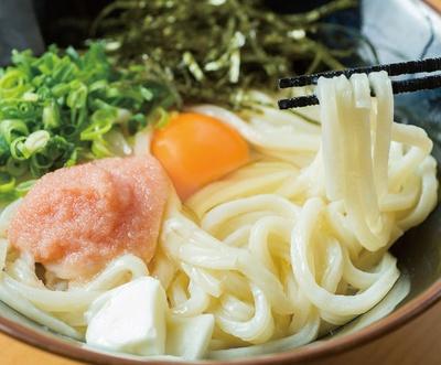 博多うどん居酒屋 泰吉 / 「釜たま明太カルピスバター」(680円)