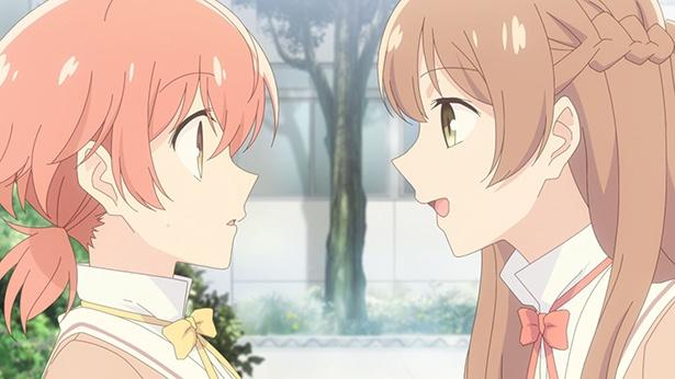 TVアニメ「やがて君になる」第2話の先行カットが到着。燈子から選挙活動の誘いを受けた侑だけれど!?