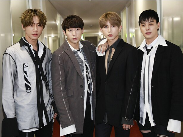 10月9日(火)の「韓流ザップ」生放送にゲスト出演したU-KISS