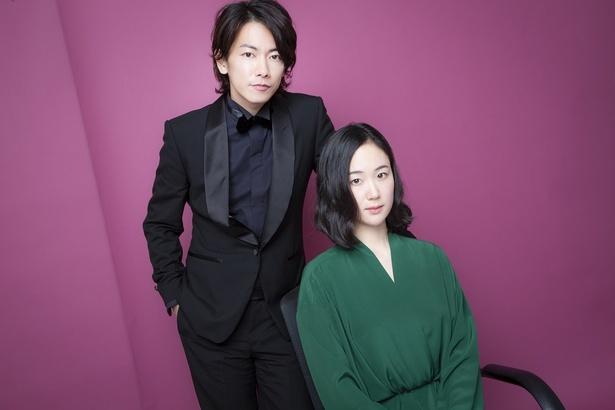 映画「億男」で夫婦役を演じた佐藤健と黒木華