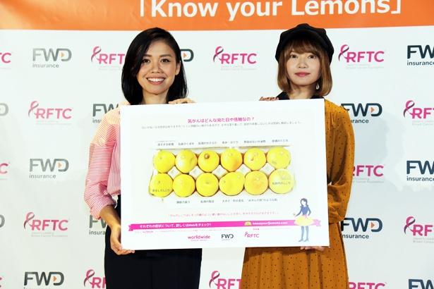 【写真を見る】矢方は乳がん治療と仕事の両立などについて語った
