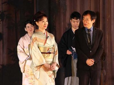 「京都国際映画祭2018」のアンバサダーに就任した三田佳子と「遠き落日」の思い出を語る奥山和由プロデューサー