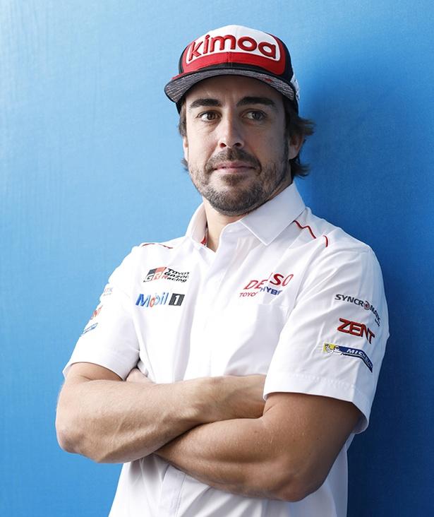 FIA世界耐久選手権の富士6時間レースに挑むフェルナンド・アロンソ