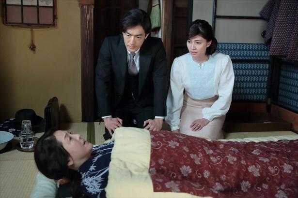 咲の結婚に反対し、仮病を使った母・鈴