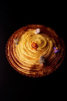 カボチャの風味豊かな「かぼちゃのモンブラン」