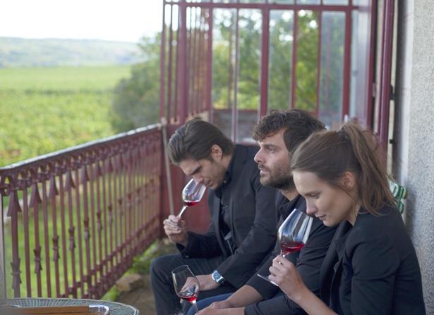 四季折々の風景と共に、ワインが造られていく過程も楽しめる(『おかえり、ブルゴーニュへ』)