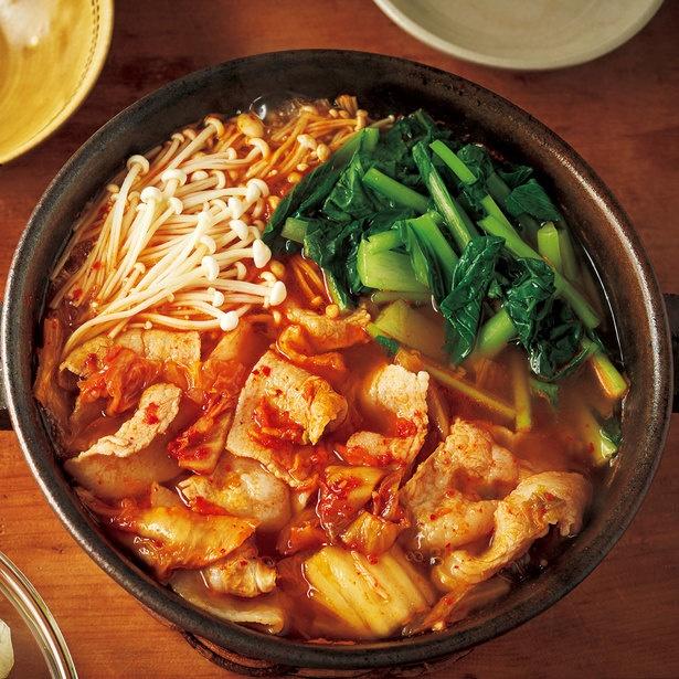 忙しいときにもおすすめの鍋。野菜がきちんととれるのもうれしい