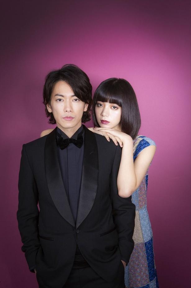映画「億男」で共演した佐藤健と池田エライザ
