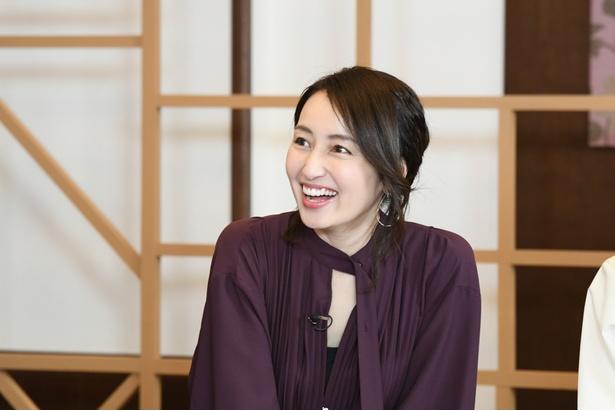 ゲストの矢田亜希子