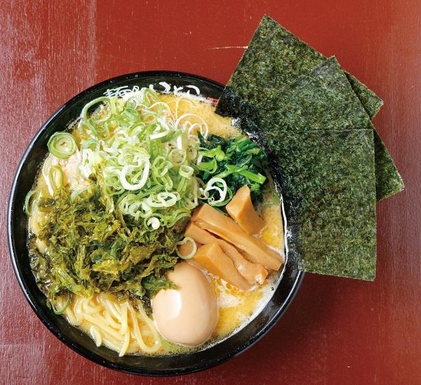 本店「麺処いのこ」同様の製法スープ、いとこラーメン(しょうゆ1080円)