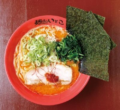 えび味噌ラーメン820円も必食メニュー