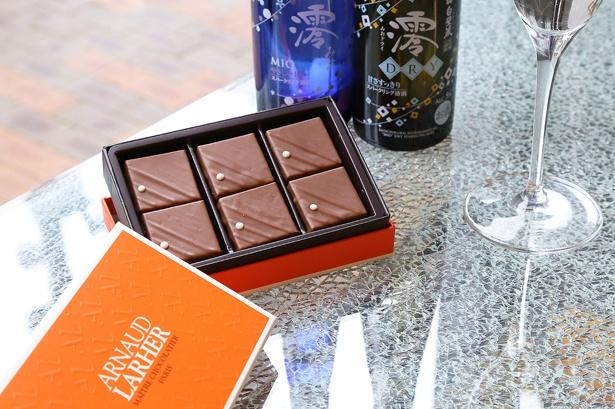 「アルノー・ラエール」が2019年のバレンタインに向けて、日本限定の新ショコラを販売