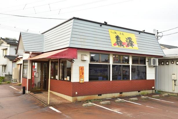 西区で開業し、現在は北区に移転した「らぁ麺、酒菜 義澤」