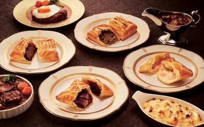 【写真を見る】洋食文化を普及してきた函館老舗洋食レストラン「五島軒」と共同開発したパイ